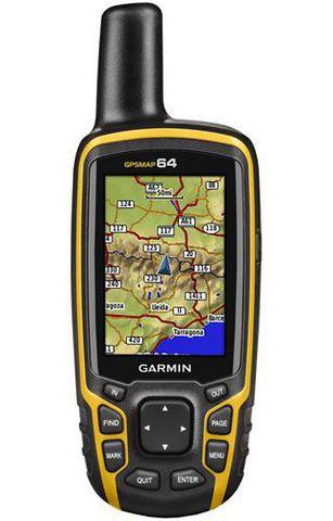 Купить Туристический GPS-навигатор Garmin GPSMAP 64 010-01199-00 по доступной цене