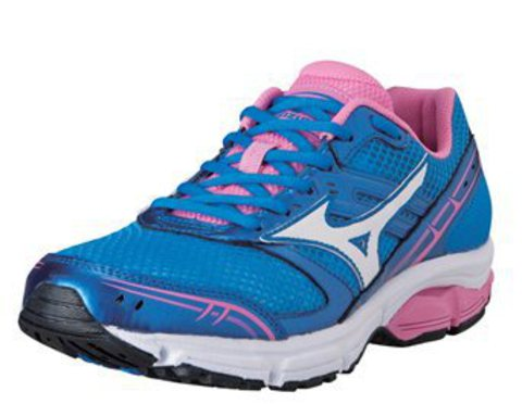 Mizuno Wave Impetus кроссовки для бега женские blue
