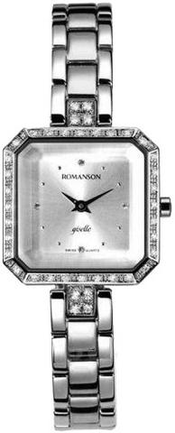 Купить Наручные часы Romanson RM9221QLWWH по доступной цене