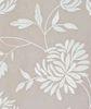 Элитная наволочка Hortensis серо-бежевая от Bovi