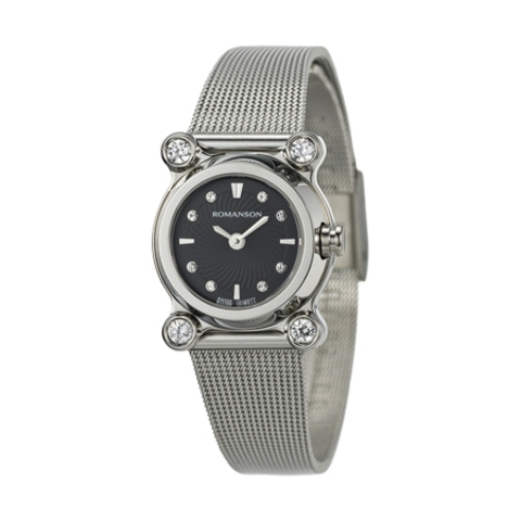 Купить Наручные часы Romanson RM2634QLWBK по доступной цене