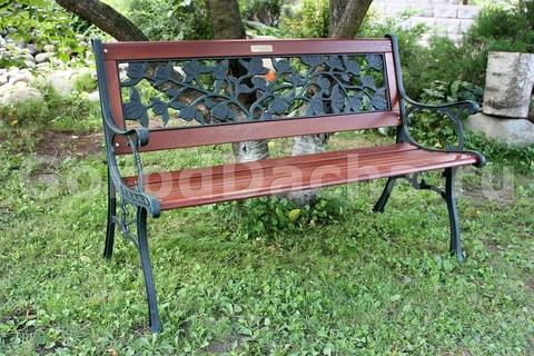 Скамейка чугунная садовая 403