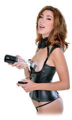 Женская вакуумная помпа для вагины и груди Clit N' Tit Power Pump