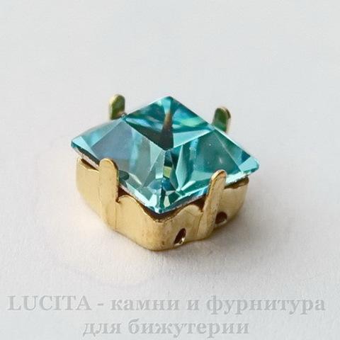 4428 Ювелирные стразы Сваровски Light Turquoise (8х8 мм) ()