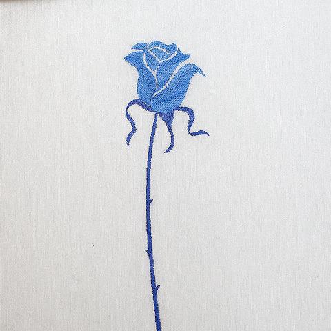Элитная шторка для ванной Rosas C. Blue от Arti-Deco