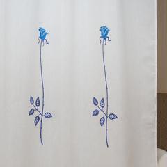 Шторка для ванной 180x200 Arti-Deco Rosas C. Blue