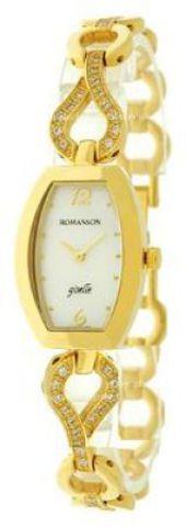 Купить Наручные часы Romanson RM9238QLGWH по доступной цене