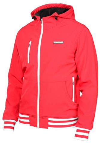 Лыжная утепленная куртка Mormaii red мужская