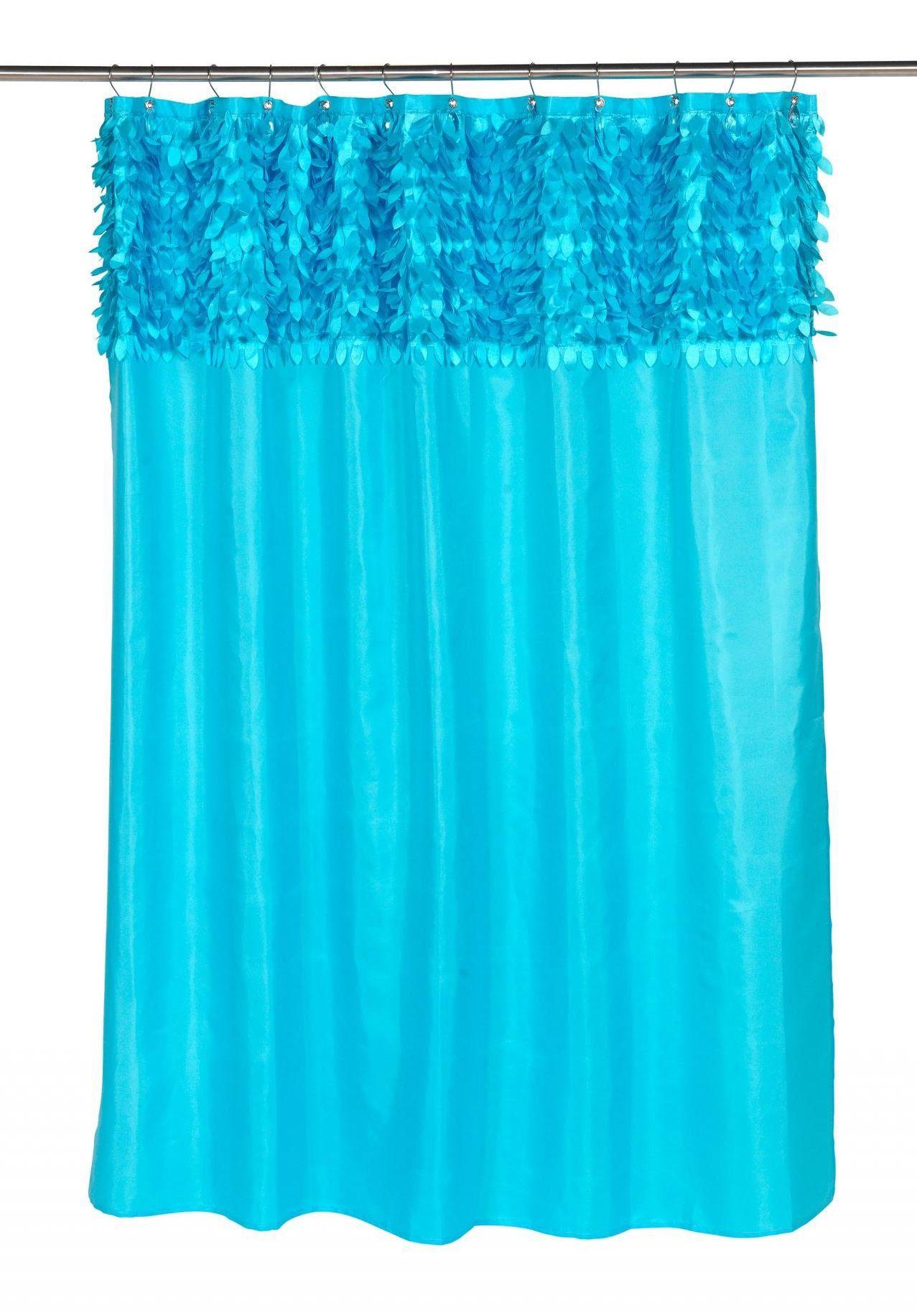 Шторки Шторка для ванной 178x183 Carnation Home Fashions Jasmine Cyan Blue elitnaya-shtorka-dlya-vannoy-jasmine-cyan-blue-ot-carnation-home-fashions-ssha-kitay.jpg