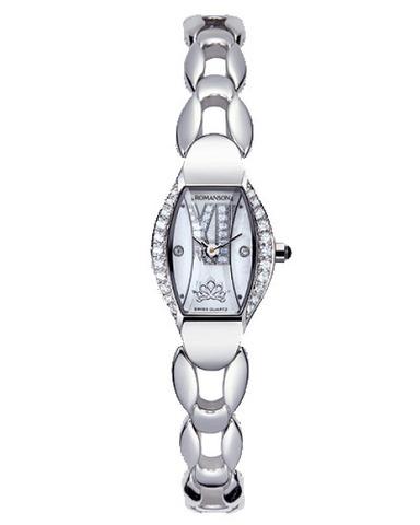 Купить Наручные часы Romanson RM6125QLWWH по доступной цене