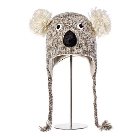 шапка с ушами Knitwits Kirby the Koala