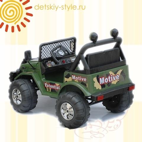 Двухместный Jeep 15