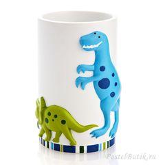 Стакан для зубной пасты детский Dino Park от Kassatex