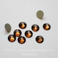 2058 Стразы Сваровски холодной фиксации Smoked Topaz ss30 (6,32-6,5 мм)