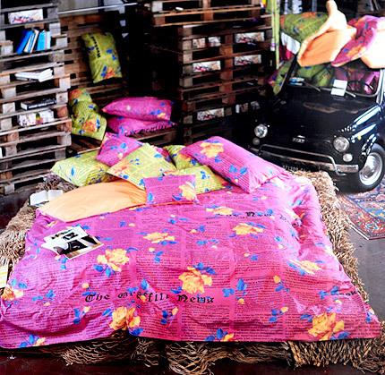Комплекты Постельное белье 1.5 спальное Besana Gossip Rose салатовое komplekt-postelnogo-belya-gossiprose-ot-carrara.jpg