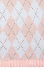 Элитный плед детский Imperio 252 розовый от Luxberry