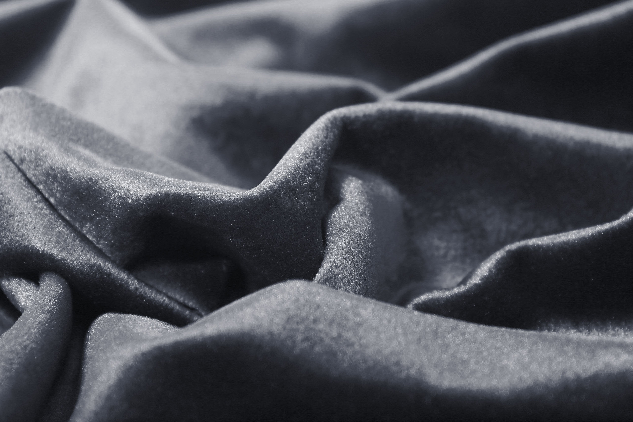 Velour (Dark Grey). Шторы из велюра из серии Luxe.
