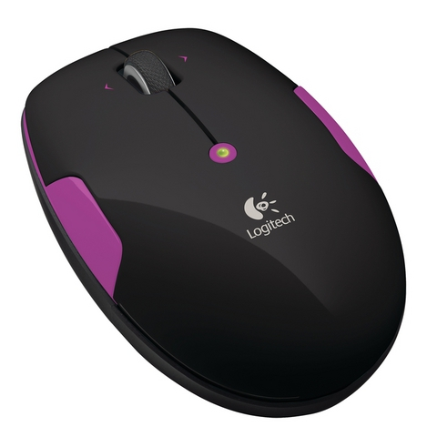 LOGITECH M345 Wireless Mouse Pink