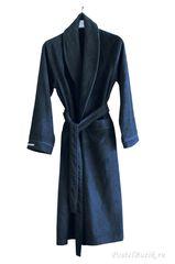 Элитный халат кашемировый Qashmare синий от Hamam