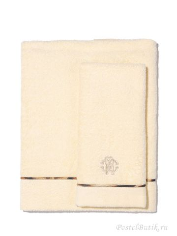 Полотенце 100х150 Roberto Cavalli Basic слоновой кости