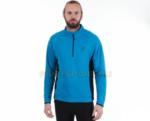 Толстовка Bjorn Daehlie Half Zip Isotherm синяя мужская