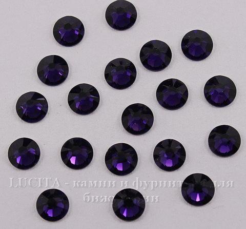 2058 Стразы Сваровски холодной фиксации Purple Velvet ss 20 (4,6-4,8 мм), 10 штук