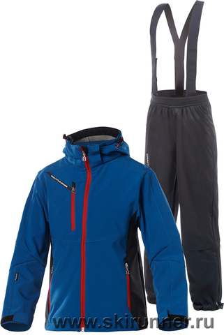 Лыжный костюм детский 8848 Altitude Apex Blue Craft Warm