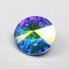1122 Rivoli Ювелирные стразы Сваровски Crystal AB (18 мм) ()