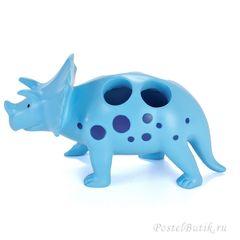 Стакан для зубных щёток детский Kassatex Dino Park
