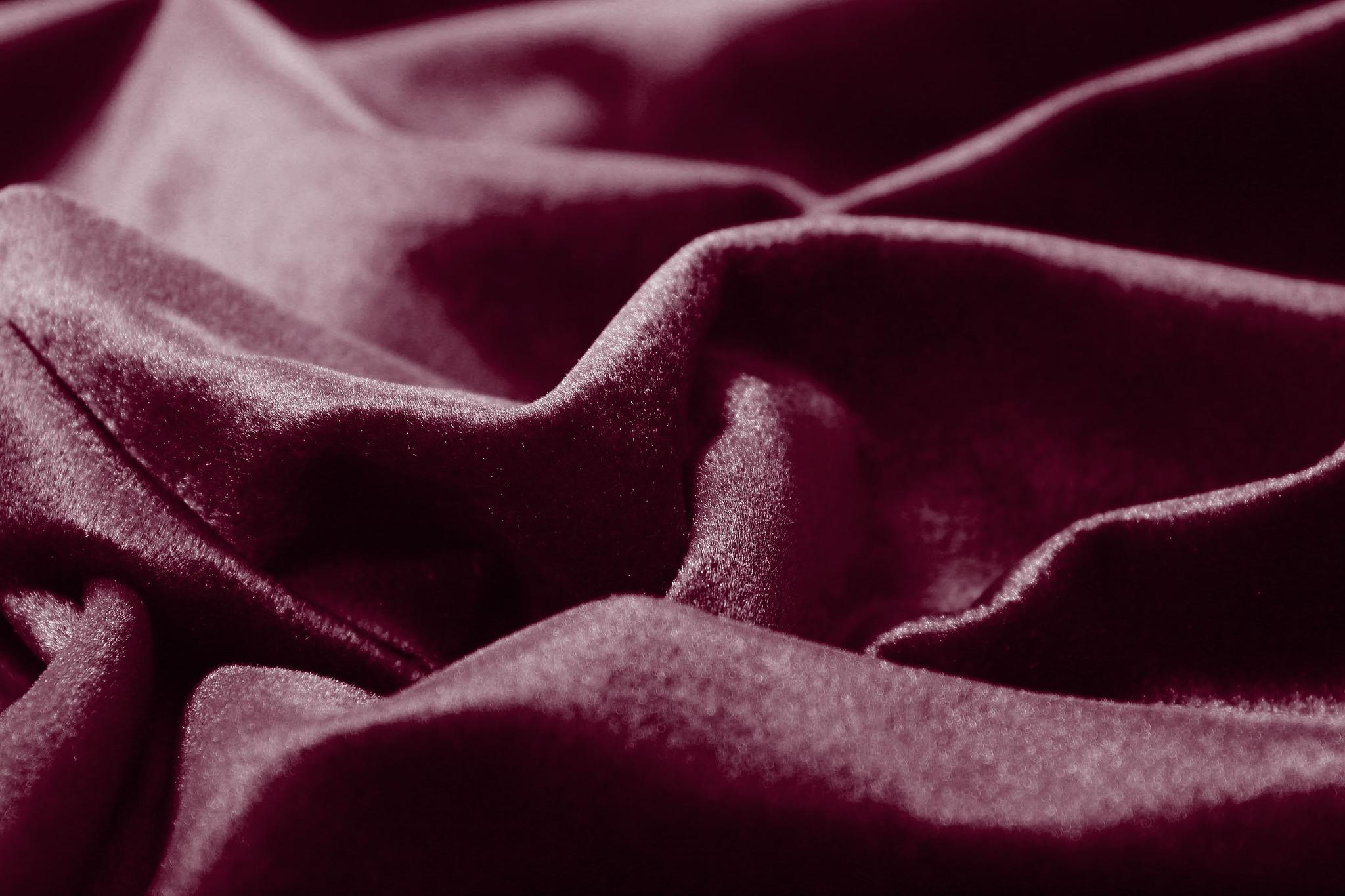 Velour (Вишневый). Шторы из велюра из серии Luxe.