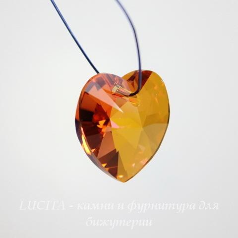 6228 Подвеска Сваровски Сердечко Crystal Astral Pink (14,4х14 мм) ()
