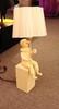 лампа CLOWN by Jaime Hayon h 45 beige  ( 2 )