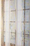Штора - Лён с вышивкой
