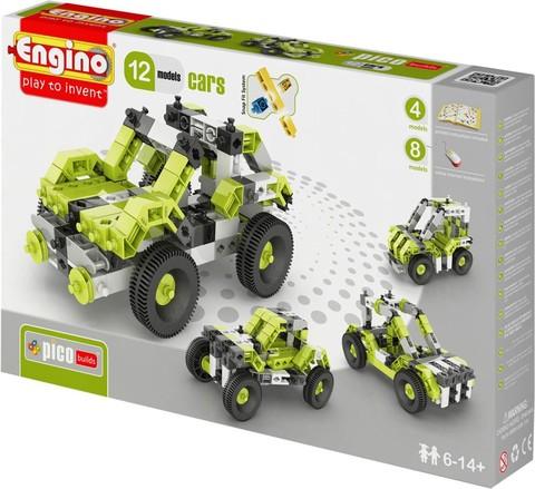 Engino Автомобили - 12 моделей, серия Пико