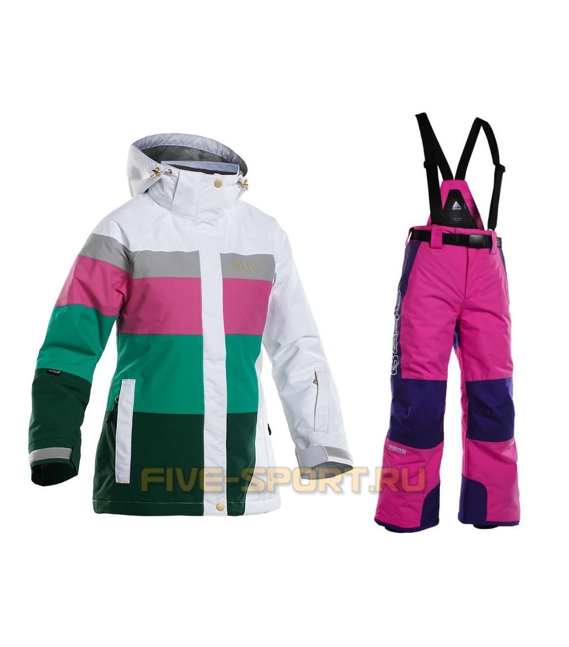 Костюм 8848 Altitude Bella/Mowat детский White/Pink