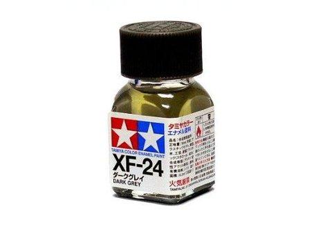 XF-24 Краска Tamiya Темно-серая Матовая (Dark Grey), эмаль 10мл