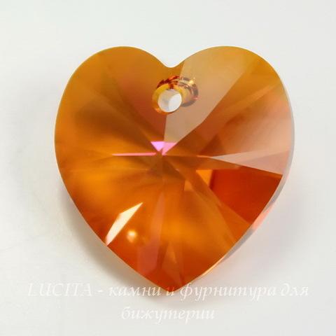 6202/6228 Подвеска Сваровски Сердечко Crystal Astral Pink (18х17,5 мм)