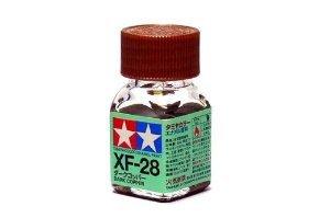 XF-28 Краска Tamiya Темно-медная Матовая (Dark Cooper), эмаль 10мл