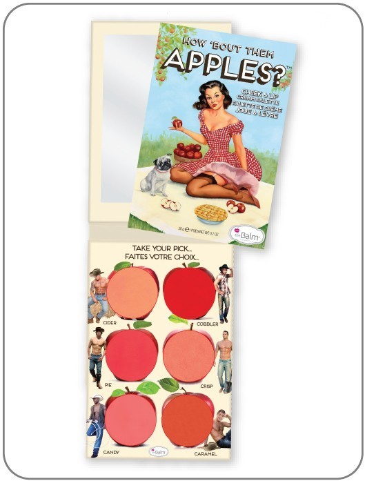 Палетка кремовых румян и помад How 'Bout Them Apples?