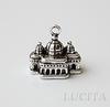 """Подвеска """"Дворец"""" (цвет - античное серебро) 18х17 мм ()"""