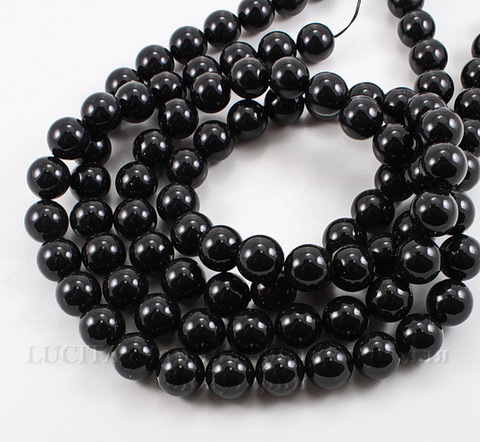 5810 Хрустальный жемчуг Сваровски Crystal Mystic Black круглый 12 мм