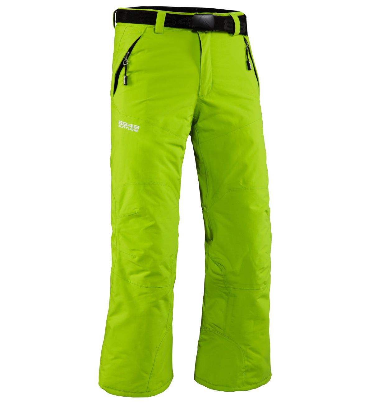 Брюки горнолыжные  8848 Altitude TOMBER детские Lime