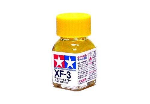 XF-3 Краска Tamiya Желтая Матовая (Flat Yellow), эмаль 10мл