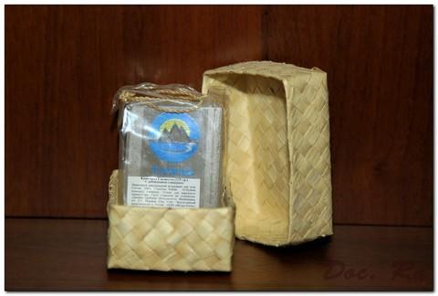 Кристалл Свежести в брусках в коробке из пальмы Бури