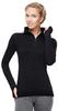 Терморубашка Norveg Hunter с длинным рукавом женская чёрная
