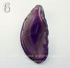 Подвеска Срез Агата (тониров)(цвет - чернильный)
