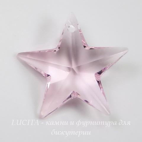 6714 Подвеска Сваровски Звезда Rosaline (20 мм)