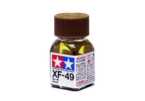 XF-49 Краска Tamiya Хаки Матовая (Khaki), эмаль 10мл