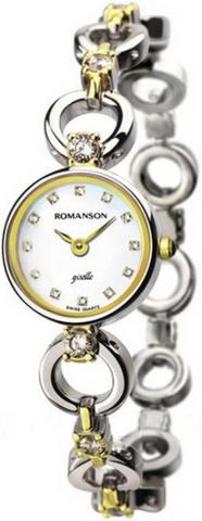 Купить Наручные часы Romanson RM0347QLCWH по доступной цене