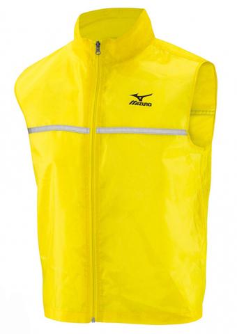 Жилет беговой Mizuno Running Vest жёлтый